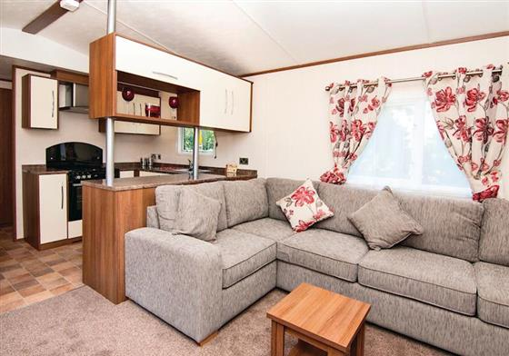 Platinum Caravan Four Plus VIP at Praa Sands Holiday Park, Penzance