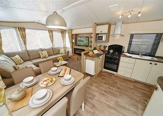 Platinum Caravan Six Plus VIP at Holmans Wood, Newton Abbot