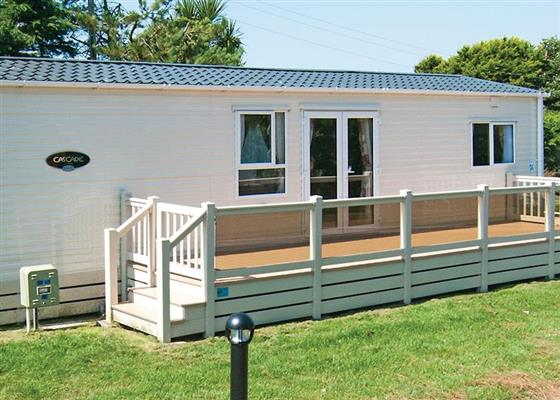Platinum Caravan Six Plus VIP at Praa Sands Holiday Park, Penzance