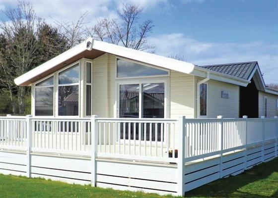Platinum Lodge 2 at Riverview Country Park, Forres