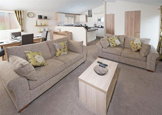 Platinum Lodge 2 at St Ives Holiday Village, Saint Ives