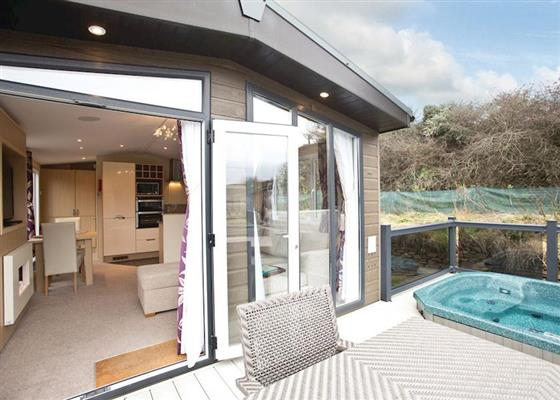 Porthleven Premier at Mullion Cove Lodges, Helston