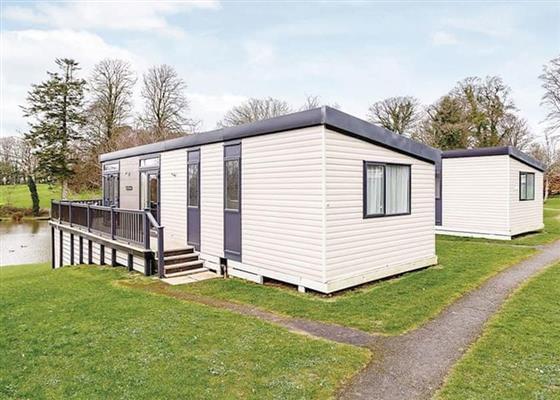 Premier Cabin 2 Spa at Hengar Manor Country Park, Bodmin
