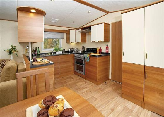 Premier Caravan 3 at Lochgoilhead Lodges, Cairndow