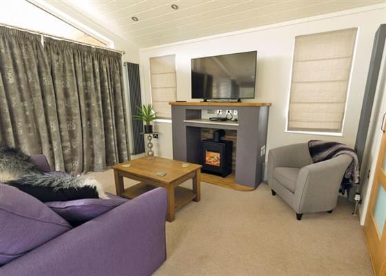 Premium Lodge 1 at Fishguard Bay Resort, Fishguard