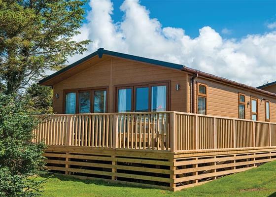 Premium Lodge 2 at Fishguard Bay Resort, Fishguard