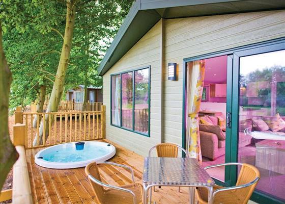 Prestige Lodge 2 at Rosewood Stud Park, Ely