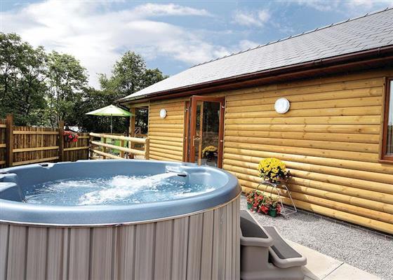 Primrose Lodge at Heartsease Lodges, Llandrindod Wells
