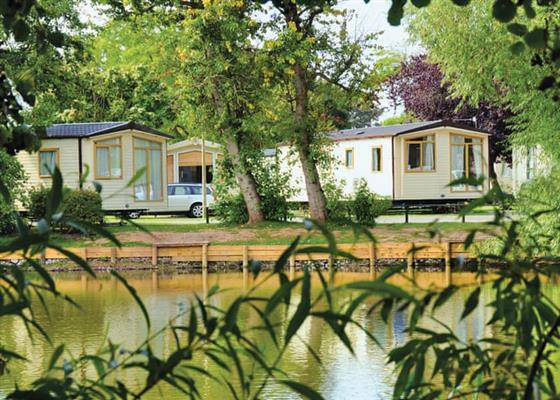 Puffin Plus 6 at Lakeside Holiday Park, Burnham-on-Sea