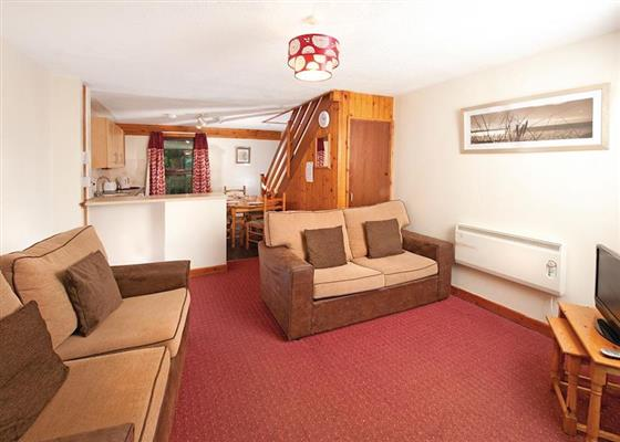PV 2 Bed Bronze House 4 at Perran View Holiday Park, Saint Agnes
