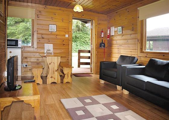 Redwood Lodge at Eastcott Lodges, Holsworthy