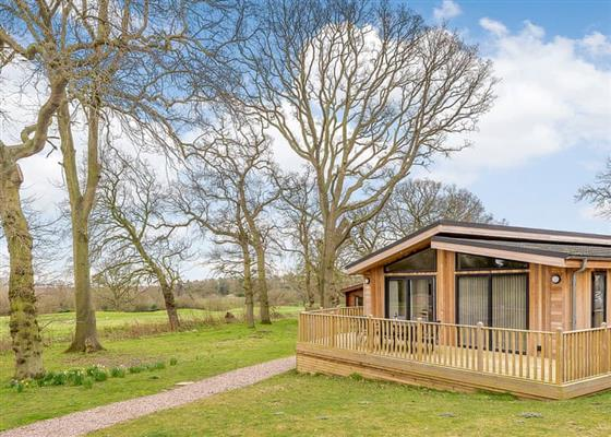 Retreat Lodge 4 at Kenwick Woods Lodges, Louth