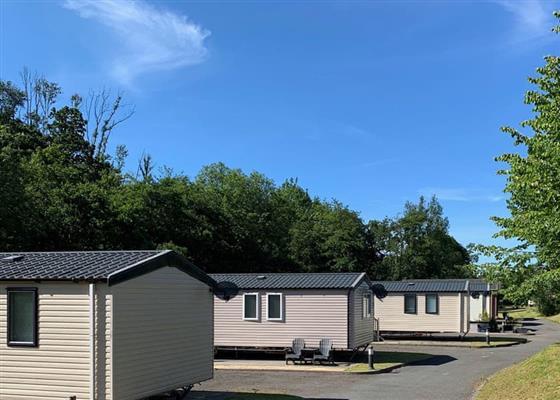 Riverside Premium at Aberdwylan Holiday Park, Boncath