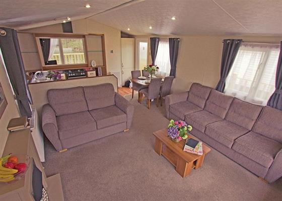 Riverview Caravan WF at Weir Meadow Park, Evesham