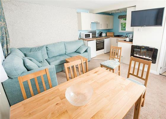SA 2 Bed Gold Chalet at Sandaway Beach Holiday Park, Ilfracombe