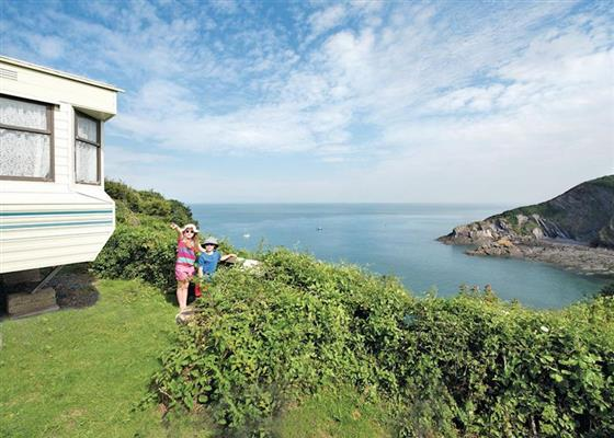 SA 3 Bed Gold Caravan at Sandaway Beach Holiday Park, Ilfracombe