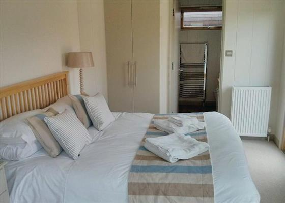 Sanctuary Lodge at Upton Lakes Lodges, Cullompton