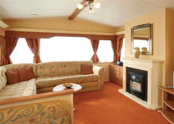 Sandpiper Caravan at Challaborough Bay, Kingsbridge