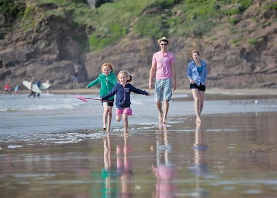 Sandymouth Cottage at Sandymouth Holiday Resort, Bude