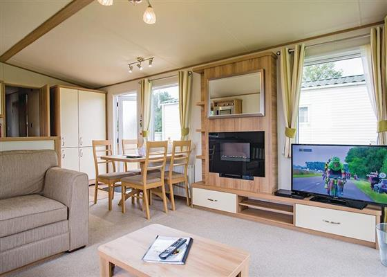 Select Plus 3 at Cross Park Holiday Village, Kilgetty
