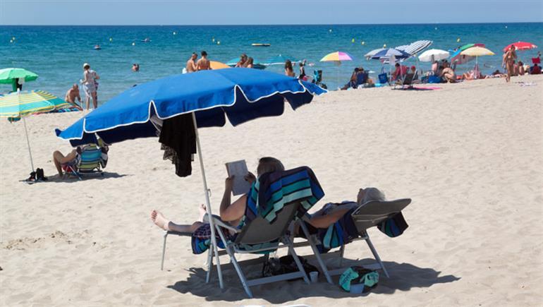 Setting of Park Playa Bara Campsite, Roda de Bera Costa Dorada
