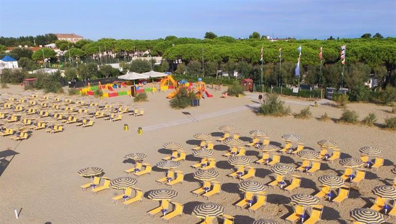 Setting of Residence Village Campsite, Cavallino, Adriatic