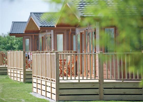 SG 2 Bed Budget Chalet at Sandy Glade Holiday Park, Burnham-on-Sea