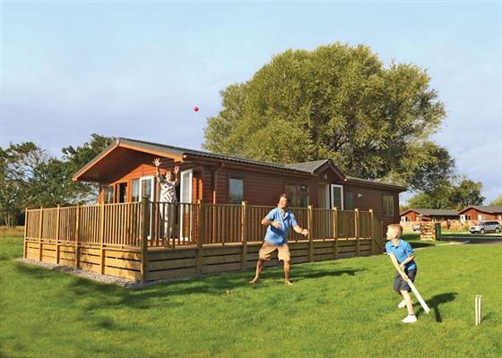 SG 3 Bed Platinum Caravan at Sandy Glade Holiday Park, Burnham-on-Sea