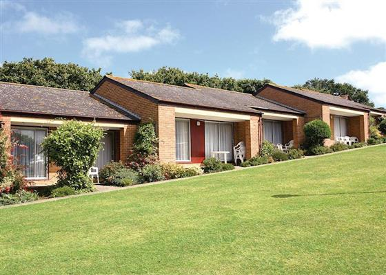 St Helens Chalet 4 at Whitecliff Bay Holiday Park, Bembridge