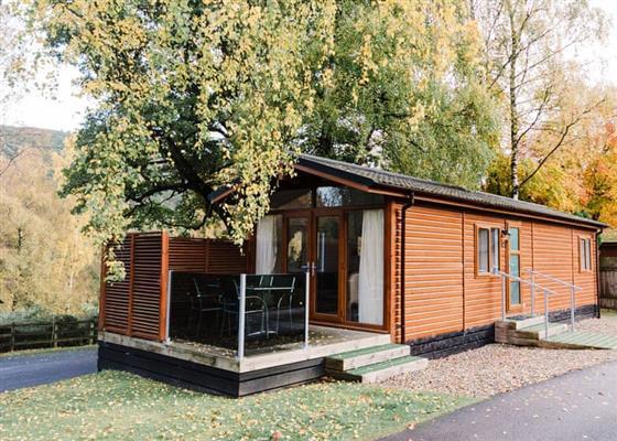 Studio Lodge 2 (Bunks) at Erigmore Leisure Park, Dunkeld