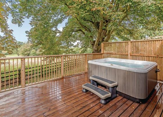 Summer Breeze at Henlle Hall Woodland Lodges, Oswestry