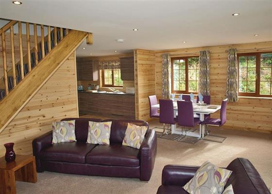 Sunset Lodge at Artro Lodges, Llanbedr
