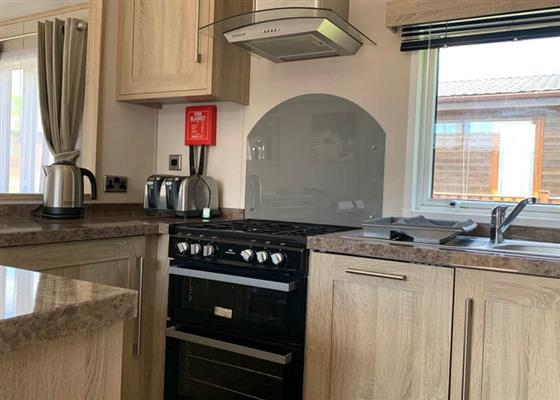 Superior (Newest) Holiday Home 4 at Brokerswood Holiday Park, Westbury