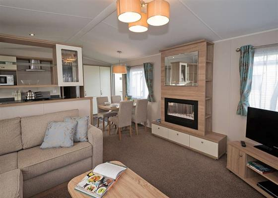 Superior 3 (Pet friendly) at Waterside Holiday Park and Spa, Weymouth
