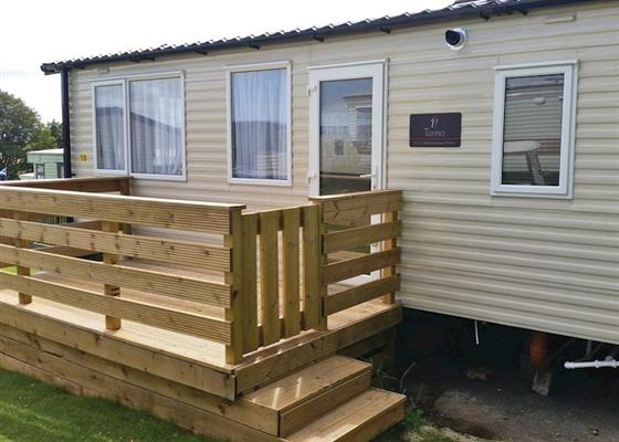Superior 3 at Three Lochs Holiday Park, Newton Stewart