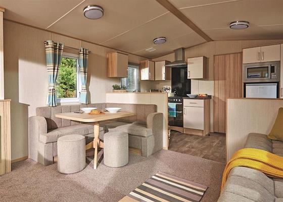 Superior Caravan 3 (Pet) at Viewfield Manor Leisure Park, Kilwinning