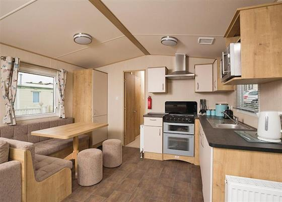 Superior Caravan 8 at Whitecliff Bay Holiday Park, Paignton