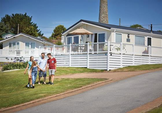 Superior Country Lodge 4 Platinum at Praa Sands Holiday Park, Penzance