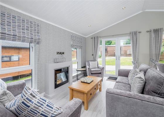 Superior Lodge (Newest) at Brokerswood Holiday Park, Westbury