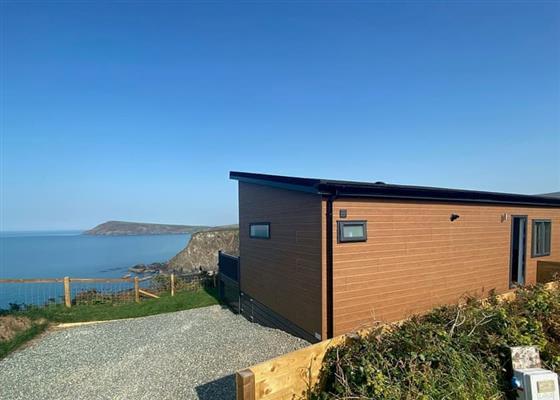 Superior Lodge 2 at Fishguard Bay Resort, Fishguard
