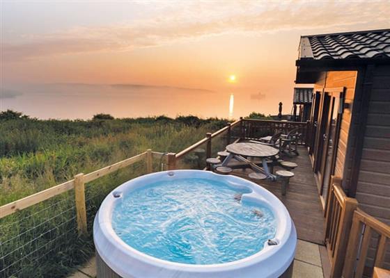 Superior Lodge 3 at Fishguard Bay Resort, Fishguard