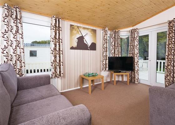 Superior Lodge 6 VIP at Tattershall Lakes Country Park, Lincoln