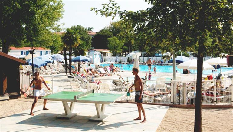 Swimming pool at Butterfly Campsite, Peschiera Lake Garda