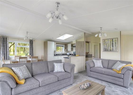 Teal Lodge at Manor Park, Hunstanton