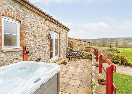 The Byre with Hot Tub