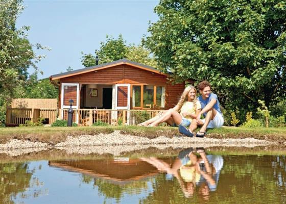 The Harrington Lodge at Herons Brook Retreat Lodges, Narberth