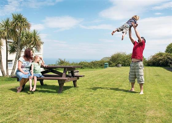 Torrs 3 Bed House (Pet) at Ilfracombe Holiday Park, Ilfracombe