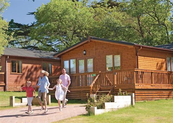 Trehawk Lodge 3 at St Minver, Wadebridge