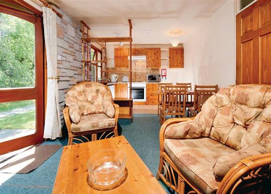 Trevacroft Silver Chalet at St Ives Holiday Village, St Ives