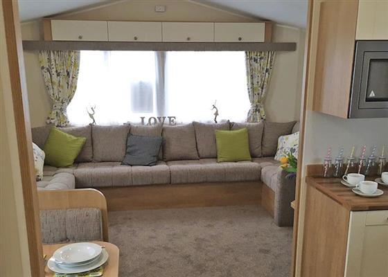 Ty Gwyn Platinum 2 Caravan at Ty Gwyn Park, Abergele
